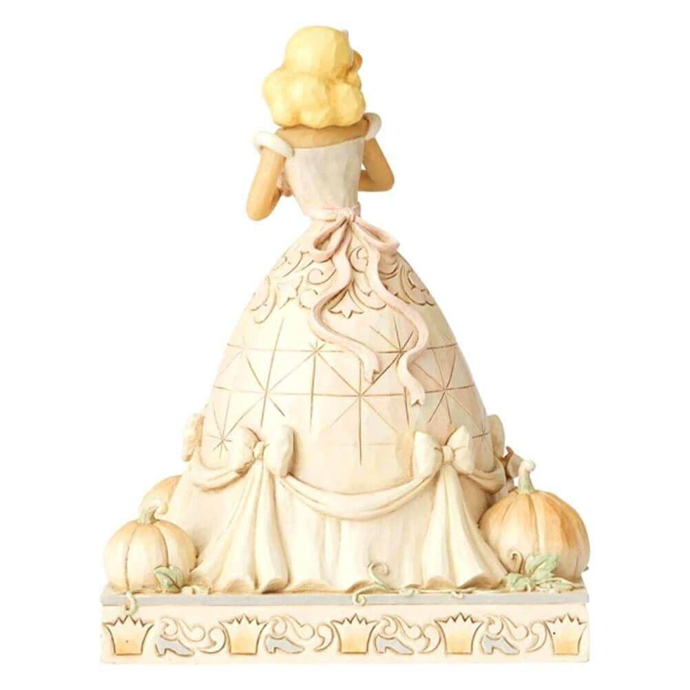 Back View of Disney Traditions Cinderella 'Darling Dreamer' Figurine