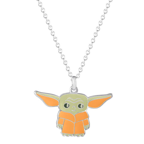 Star Wars The Mandalorian The Child Character Enamel Pendant