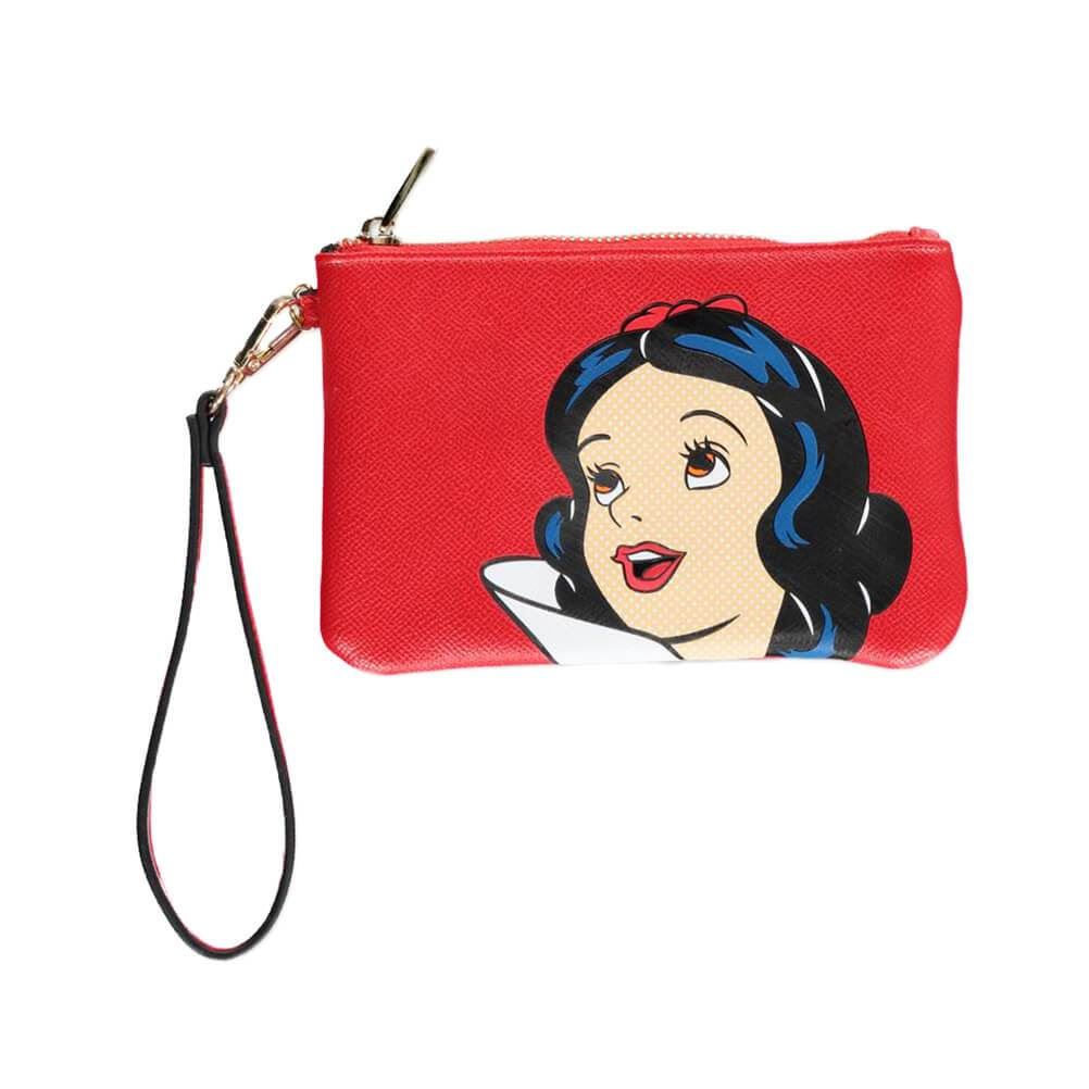 Disney Snow White Red Coin Purse with Wriststrap
