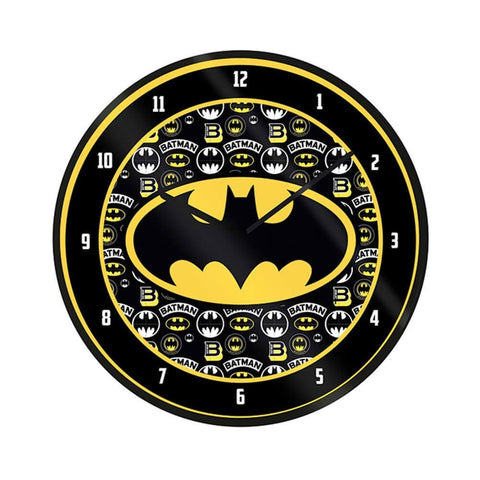 DC Comics Batman Logo Wall Clock
