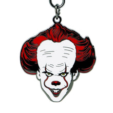 Load image into Gallery viewer, IT Pennywise Clown Metal Keyring