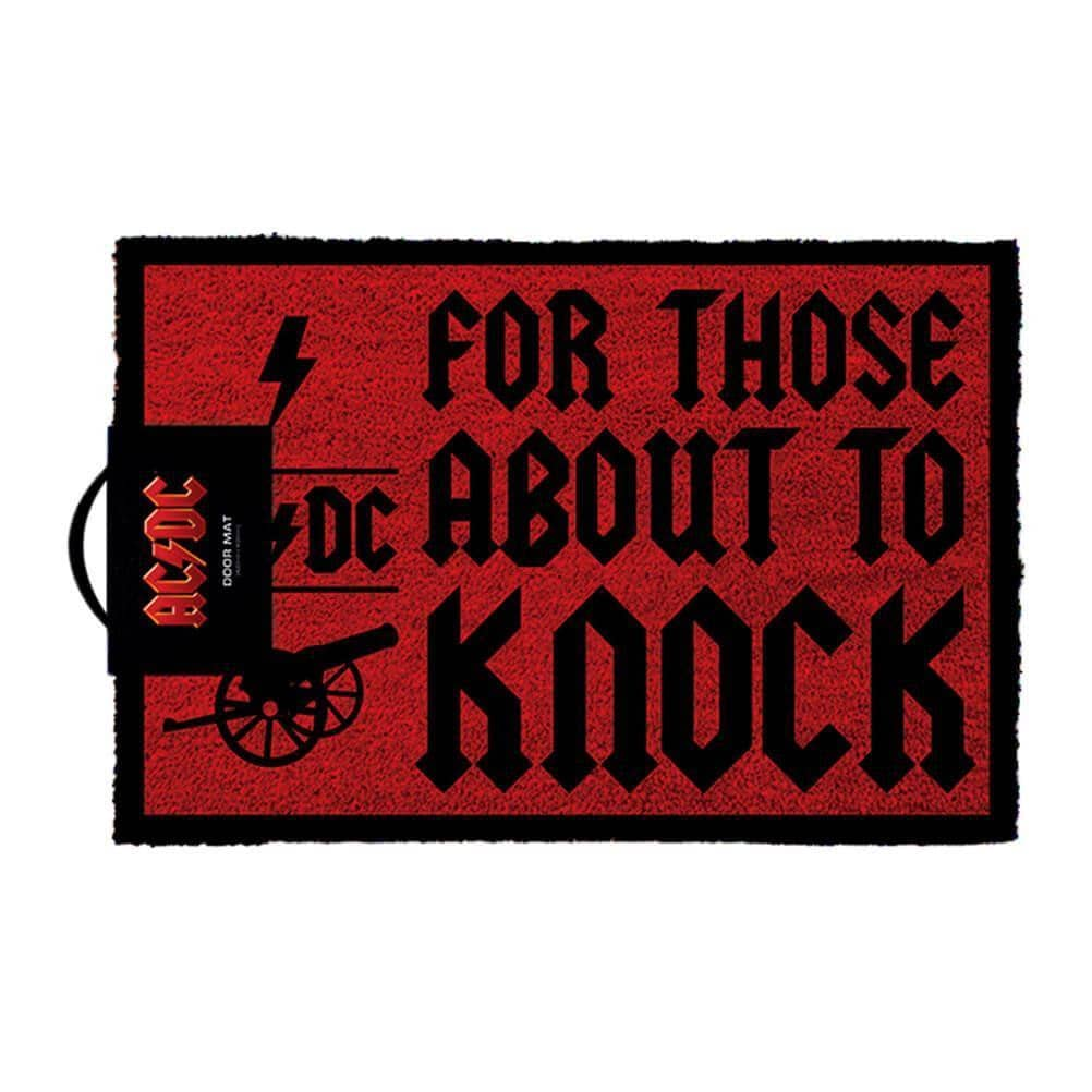 AC/DC For Those About to Knock Doormat