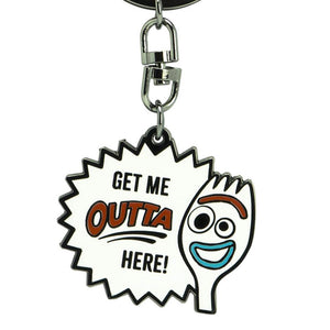 Toy Story 4 Forky Character Metal Keyring