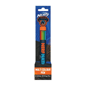 Nerf Nation 8-in-1 Multi-Colour Pen.