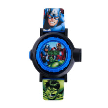 Load image into Gallery viewer, Children's Marvel Avengers Projection Watch.