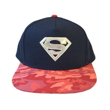 Load image into Gallery viewer, DC Comics Superman Logo Snapback Cap