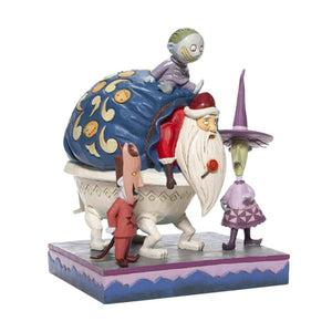 Disney Traditions Lock, Shock and Barrel with Santa Figurine