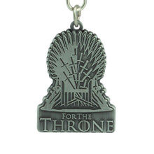 Load image into Gallery viewer, Game of Thrones Iron Throne Keyring