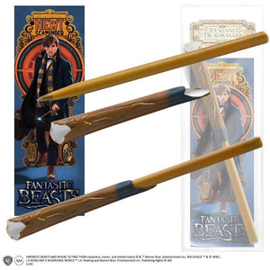Fantastic Beasts and Where to Find Them Newt Scamander Pen and Bookmark
