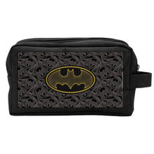 Load image into Gallery viewer, DC Comics Batman Black Travel Wash Bag