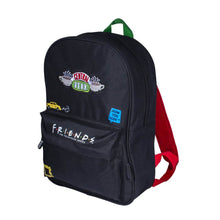 Load image into Gallery viewer, Friends Central Perk Premium Black Backpack