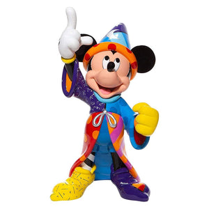 Disney Britto Sorcerer Mickey Mouse Statement Figurine.