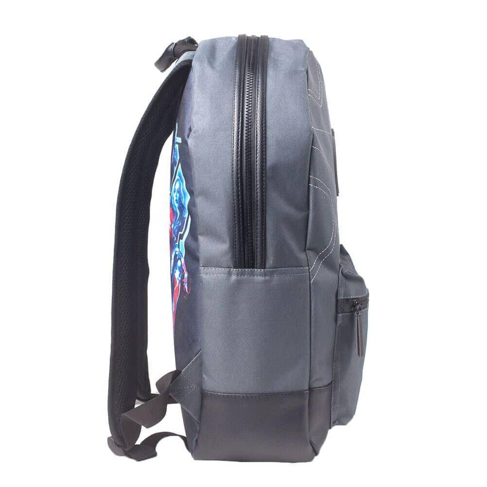 Side View of the Marvel Avengers Stitching Laptop Backpack