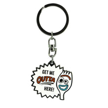 Load image into Gallery viewer, Toy Story 4 Forky Character Metal Keyring