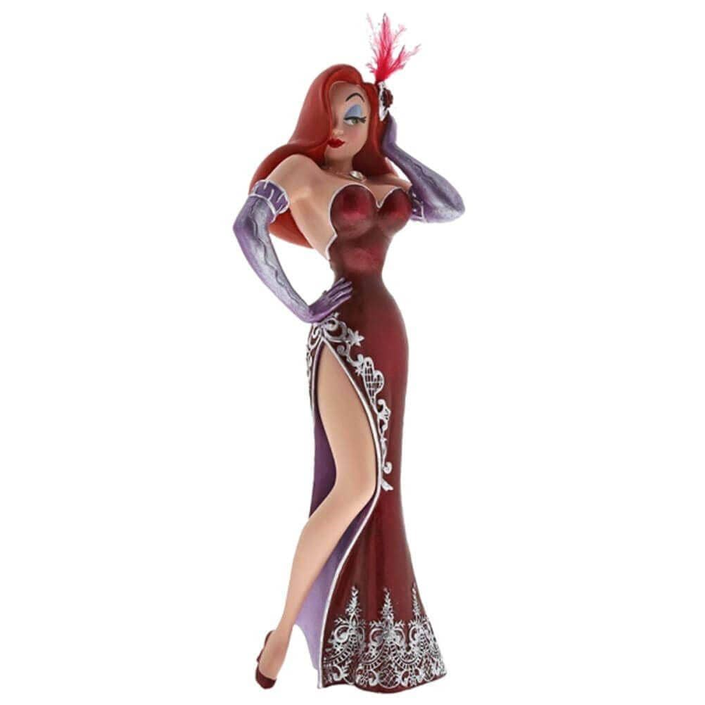 Front View of Disney Haute Couture Jessica Rabbit Figurine
