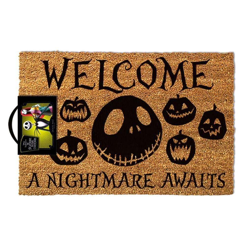 The Nightmare Before Christmas A Nightmare Awaits Doormat