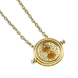 Harry Potter Gold Plated Spinning Time Tuner 30mm Necklace