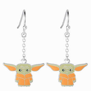 Star Wars The Mandalorian The Child Character Enamel Drop Earrings