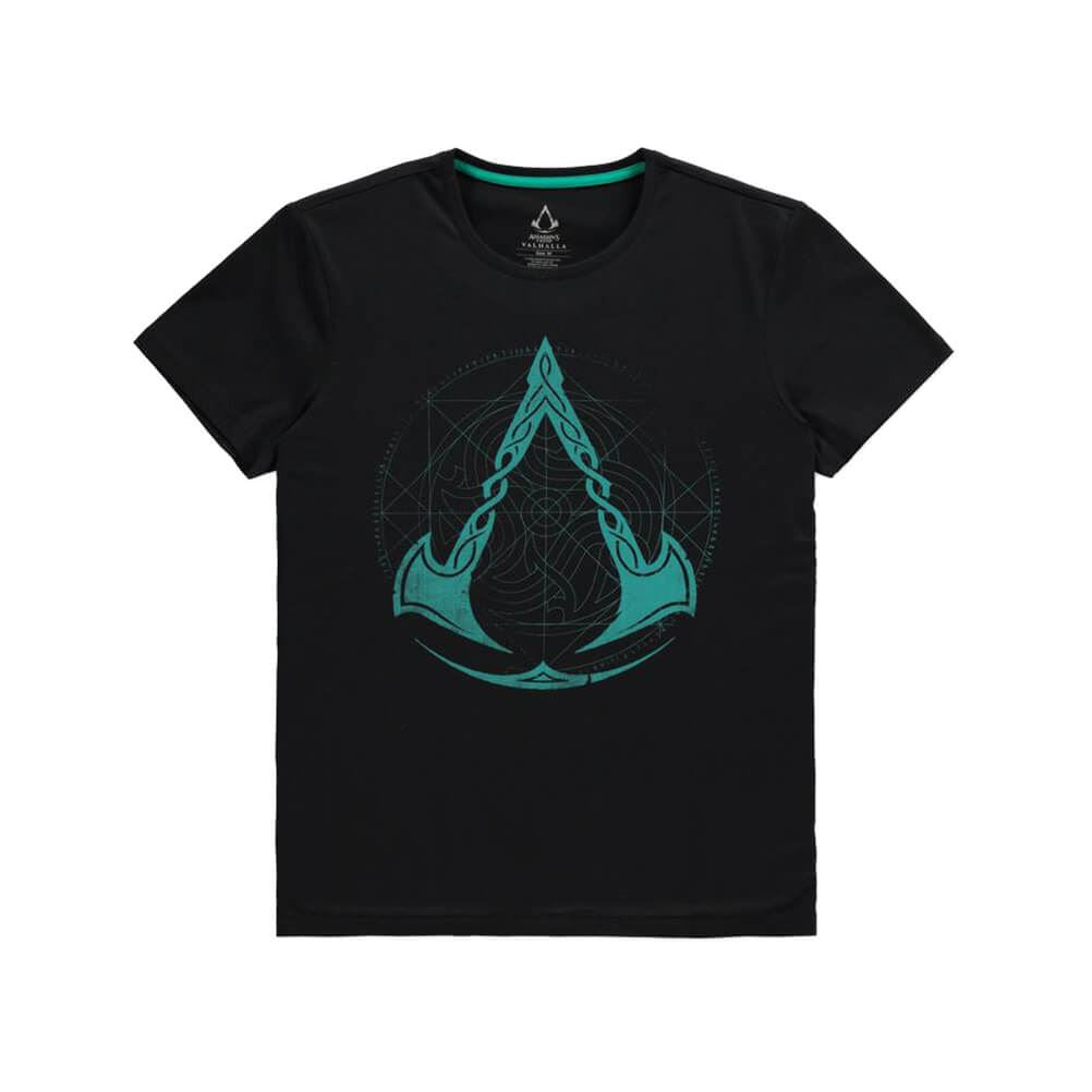 Men's Assassin's Creed Valhalla Crest Black T-Shirt