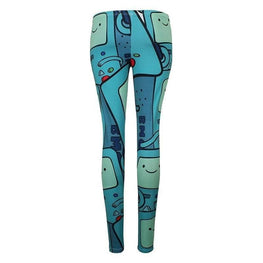 Adventure Time Beemo All Over Print Leggings
