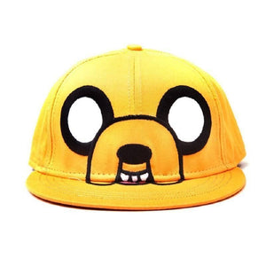 Adventure Time Jake Character Cap