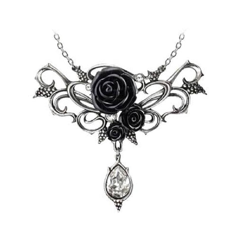 alchemy gothic page 3 retro styler 13th Century Calligraphy alchemy gothic bacchanal rose pendanta sumptuous necklace with a romantic motif hiding or revealing a secret libertine passion for wine and sensual