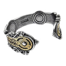 Load image into Gallery viewer, Alchemy Gothic Spectrostatic Nocturnium Pewter Bracelet