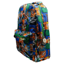 Load image into Gallery viewer, Multi-Coloured Retro Style Aquaman Sealife Comic Strip Backpack - Front Side View