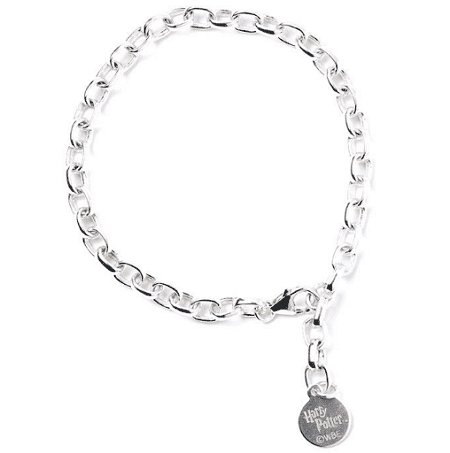 Harry Potter Sterling Silver Charm Bracelet