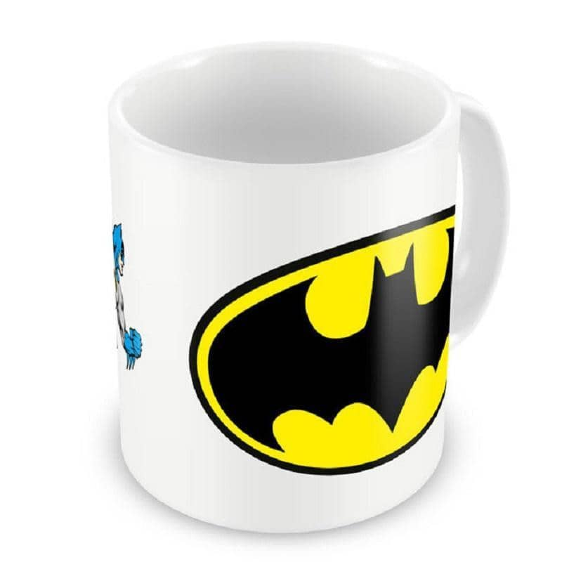 Batman Logo and Character Mug.