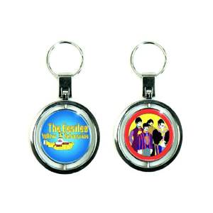 Beatles Yellow Submarine Spinning Keyring