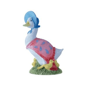 Beatrix Potter Jemima Puddle-Duck with Ducklings Mini Figurine