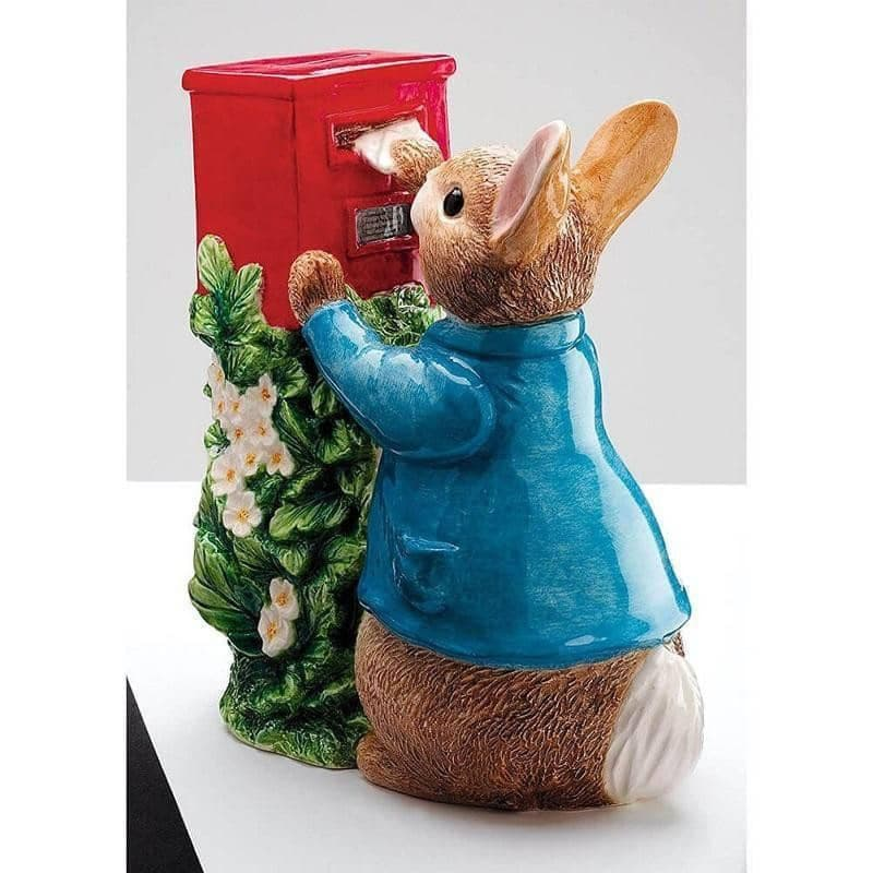 Beatrix Potter Peter Rabbit Posting a Letter Money Box
