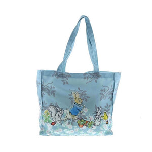 Front View of the Beatrix Potter Peter Rabbit Tote Bag