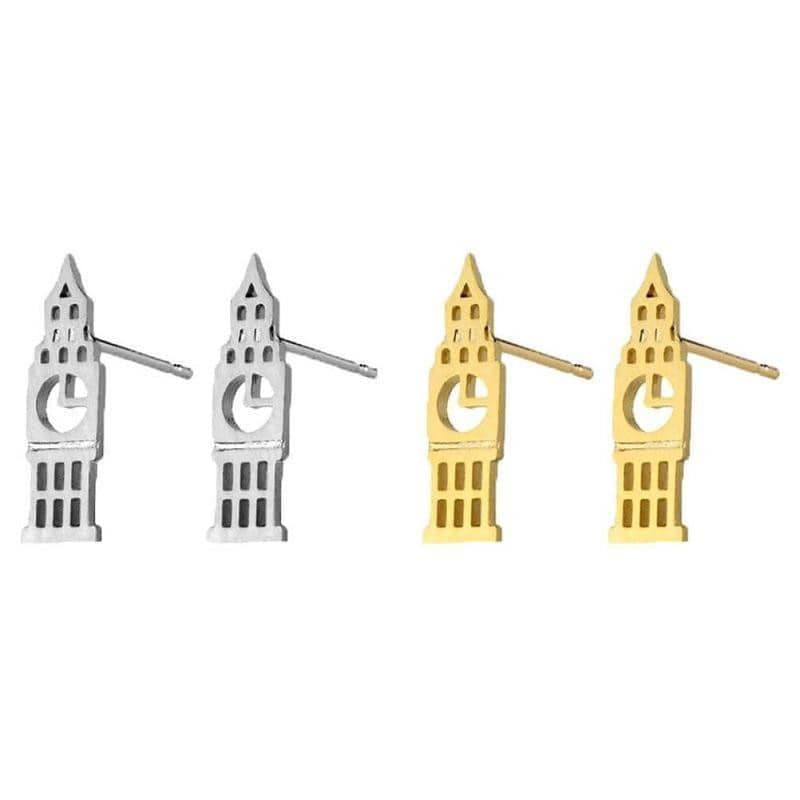 Big Ben Stud Earrings