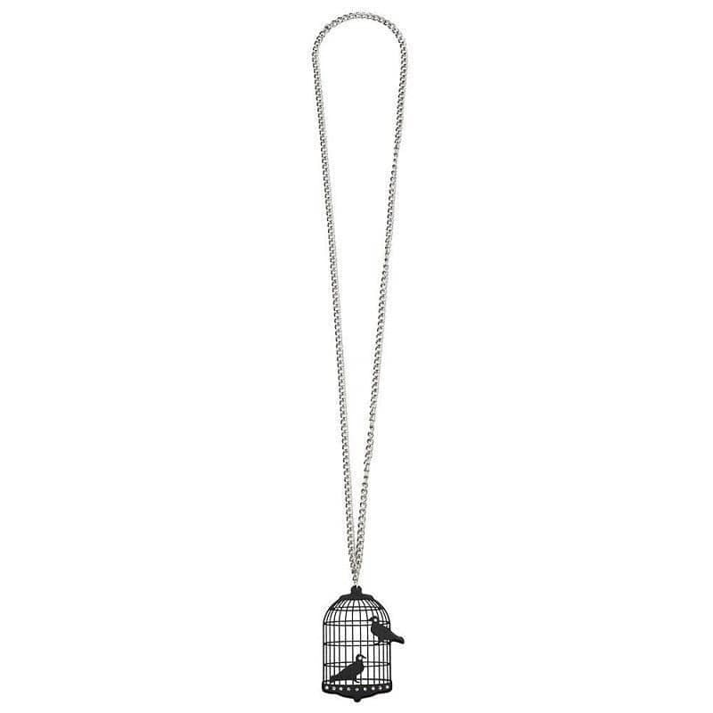 Bird Cage Pendant with Mirror