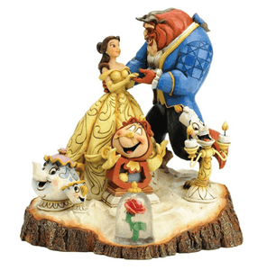 Beauty and The Beast 'Tale As Old As Time' Figurine