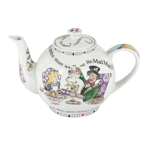 Cardew Alice in Wonderland 30 oz 4 Cup Teapot