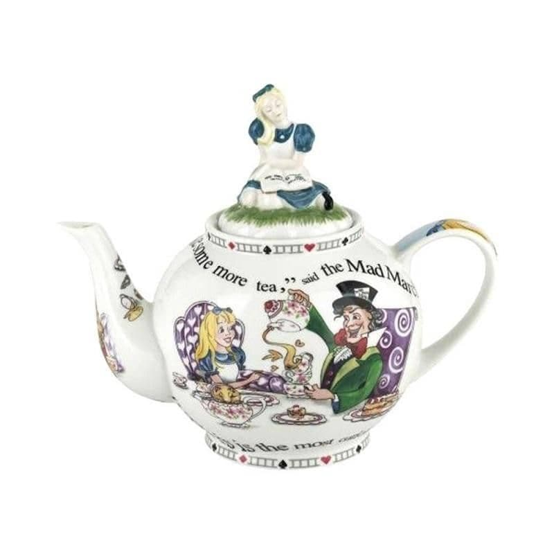 Cardew Alice in Wonderland 48 oz 6 Cup Teapot