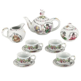 Cardew Alice in Wonderland Miniature Collector's Tea Set