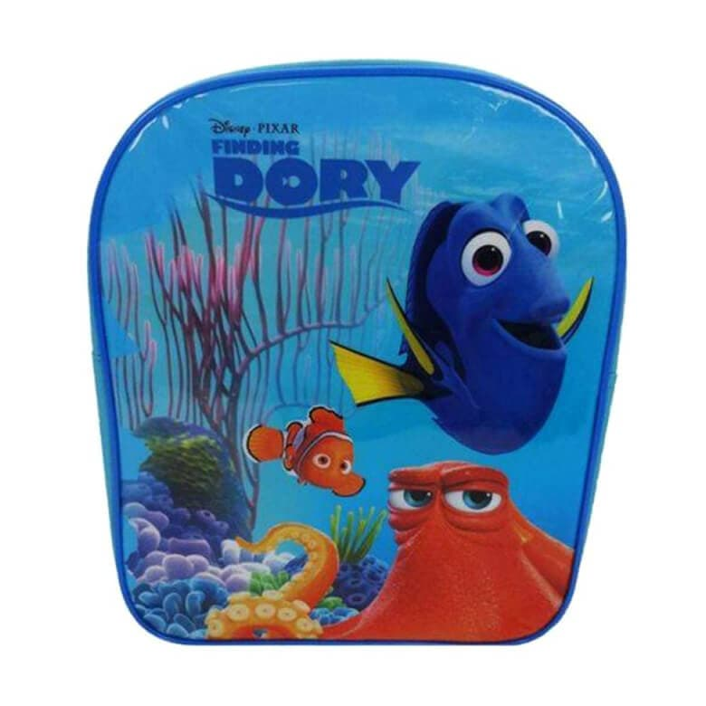 Front View of the Children's Finding Dory Backpack