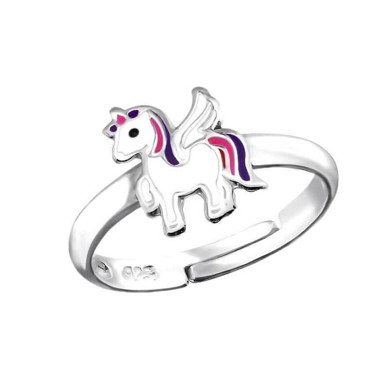 Children's Sterling Silver Unicorn Ring
