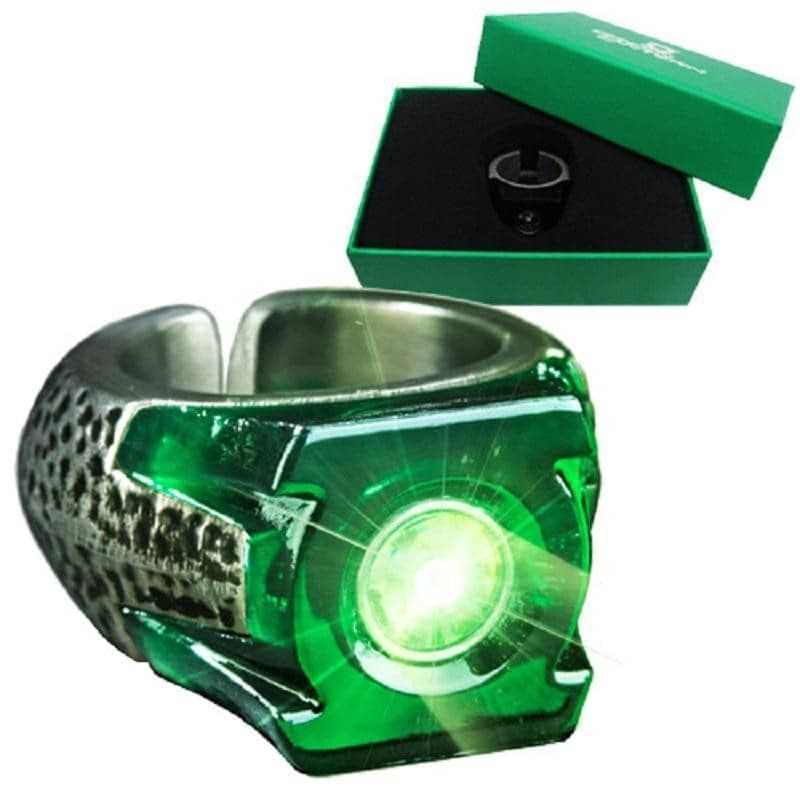 DC Comics Green Lantern Light Up Power Ring Prop Replica