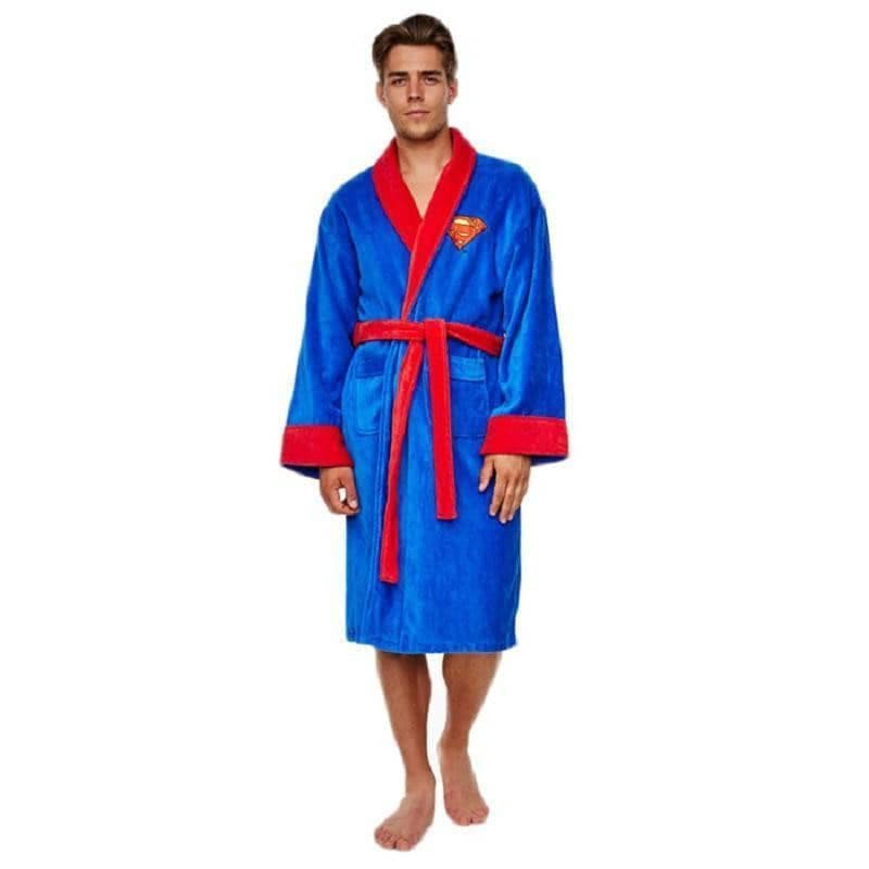 DC Comics Superman Adult Fleece Dressing Gown