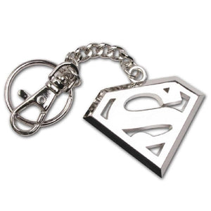 DC Comics Superman Stainless Steel Logo Keychain