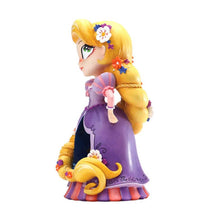 Load image into Gallery viewer, Left Side View of the Disney Showcase Miss Mindy Rapunzel Figurine