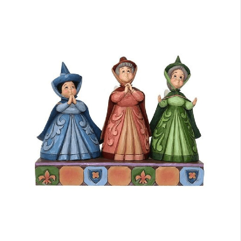 Disney Traditions Three Fairies 'Royal Guests' Figurine
