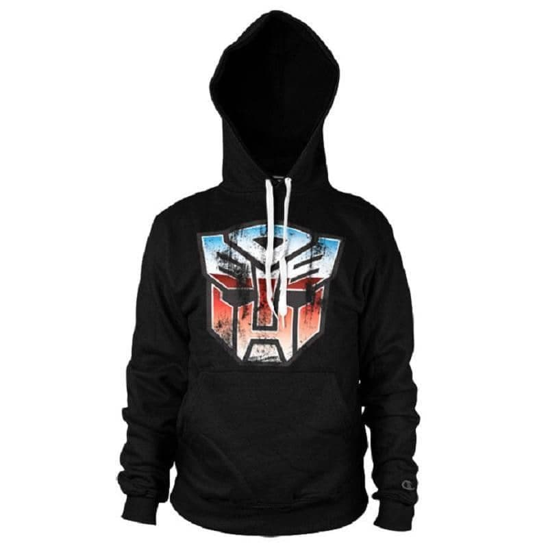 Distressed Transformers Autobot Shield Hoodie