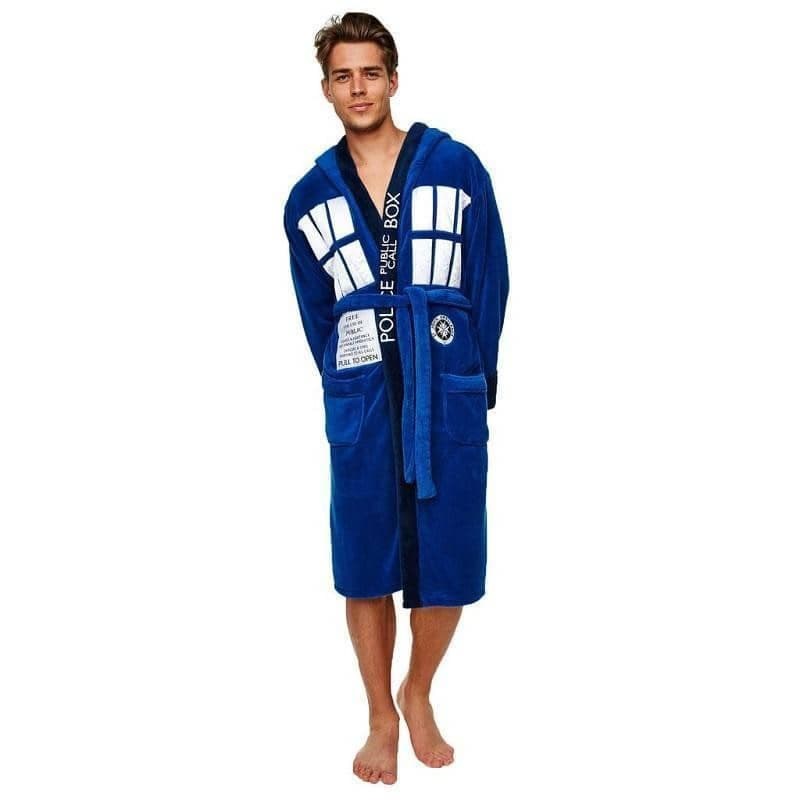 Doctor Who Adult TARDIS Dressing Gown – Retro Styler