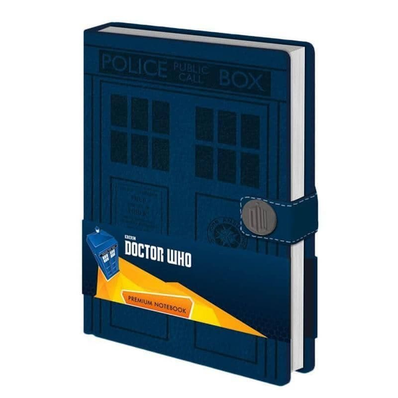 Doctor Who TARDIS A5 Premium Hardback Notebook